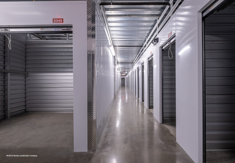 Community Park Storage built by ARCO Murray Construction Company