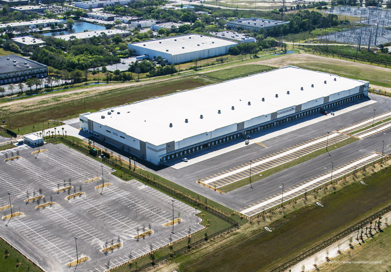 FedEx St Petersburg, Florida Aerial