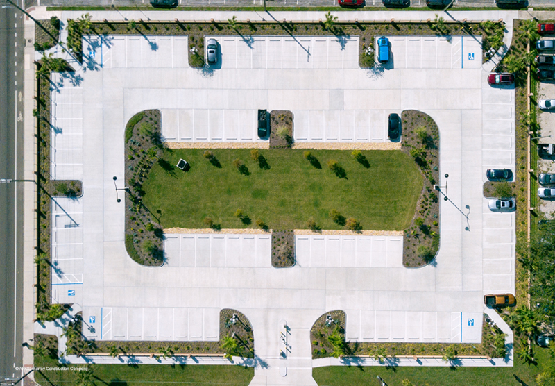 ARCO Fuente Parking Lot
