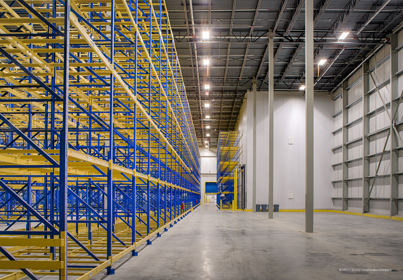 100000 SF Cold Storage Distribution Center Wilmington North Carolina & Cold Storage